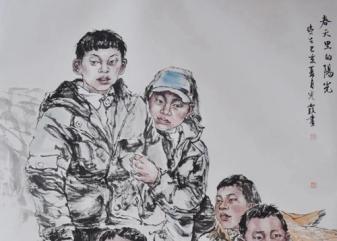 第七届安徽美术大展儿童题材...
